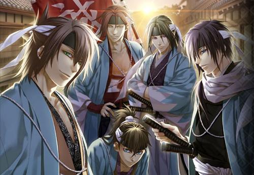 Resultado de imagen de Hakuouki: Shinsengumi Kitan