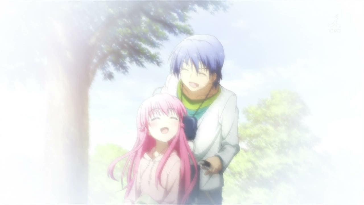 cual es el anime o escena mas triste que han visto Angel-beats-10e